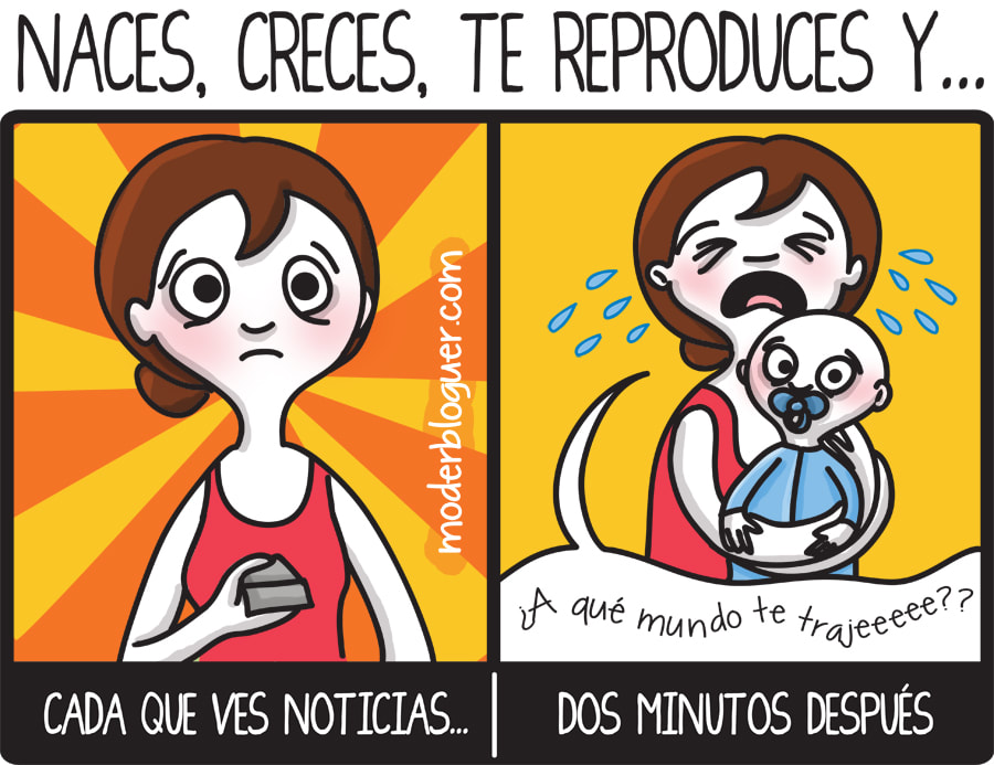 #motherblogger, #comic, #humor, #risa, #cartoon, #maternidad, #motherhood